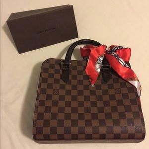 Authentic Triana Damier LV bag